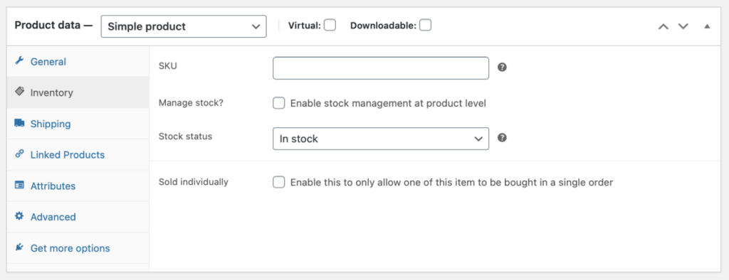 add product details